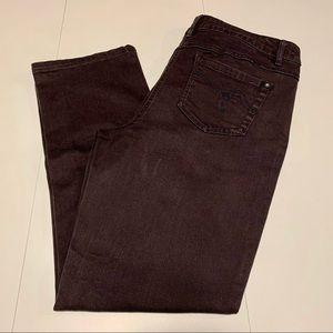 Reitman's Brown Slim Leg Jeans